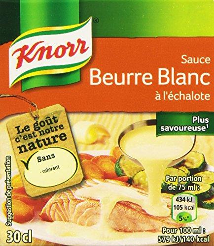 Knorr Sauce Beurre Blanc à l'Échalote la Brique 30 cl