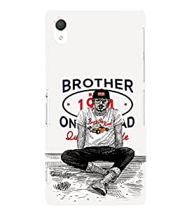 EPICCASE Swagger guy Mobile Back Case Cover For Sony Xperia Z2 (Designer Case)
