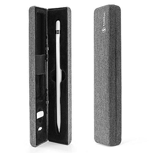 tomtoc Schutz Hülle für Apple Pencil (1. Generation), Stift Case Etui für iPad Air 2019 / iPad Mini / 12,9