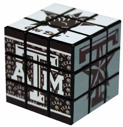 Game Day Outfitters NCAA Texas A & M Aggies Spielzeug Puzzle Cube