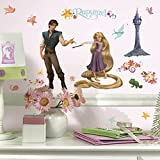 Roommates Tangled Rapunzel Peel and Stick Wall Decal (Multi-Color) - Best Reviews Guide