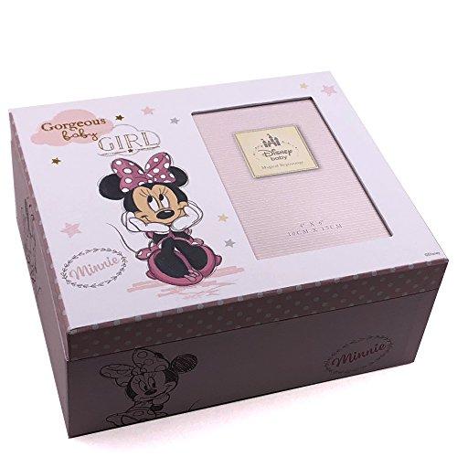 Disney Minnie Maus Baby Andenken Memories Box Geschenk (Baby Minnie Maus Baby-dusche)