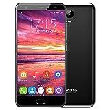 OUKITEL K6000 PLUS 4G LTE FDD Smartphone in offerta, Ricarica Rapida 6080mAh batteria, 5,5 Pollici 2.5D FHD Display,4GB di RAM 64GB ROM MTK6750T Android 7.0 Octa core da 1.5GHz 8.0MP + 16.0MP fotocamera,Dual SIM, Impronte Digitali,OTG,GPS Telefono Cellulari