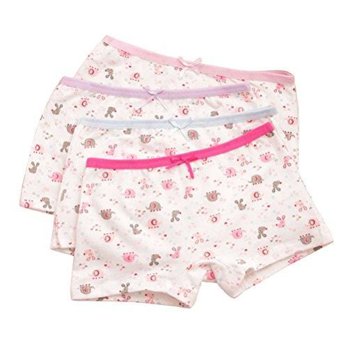 Adiasen-little-Girls-4-Packs-Comfortable-Cute-Cotton-Underwear-Boxer-Hipster-Knickers-Briefs