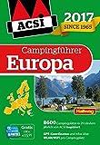 ACSI Internationaler Campingführer Europa 2017 (Hallwag Promobil) -