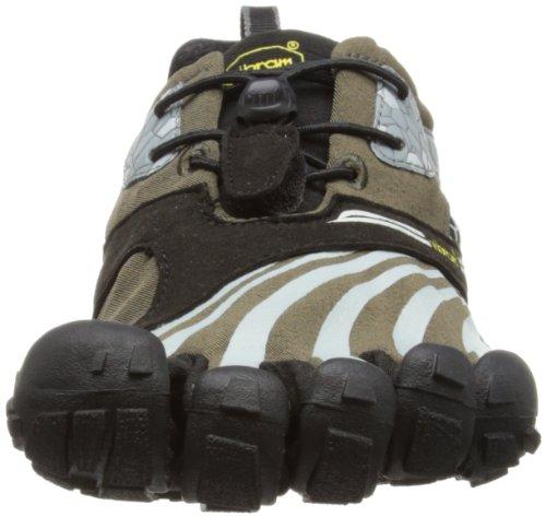 Vibram 5 Fingers - Spyridon, Scarpe sportive - Running Uomo Verde (Military Green/Grey/Black)