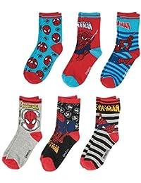 Spiderman Chaussettes (lot de 6 paires)