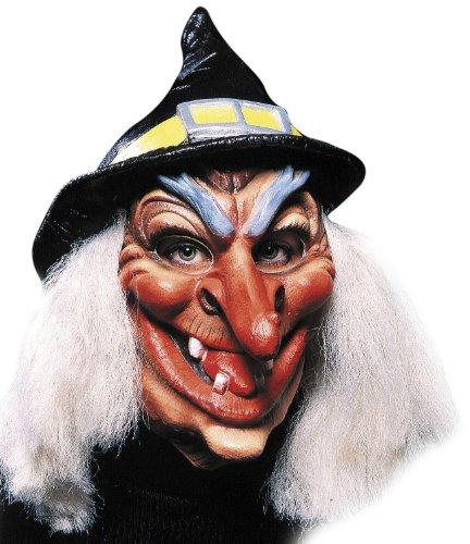 Cesar–H161–001–Kostüm–Kopf Maske zum Hüte (Kostüm Sorciere De)