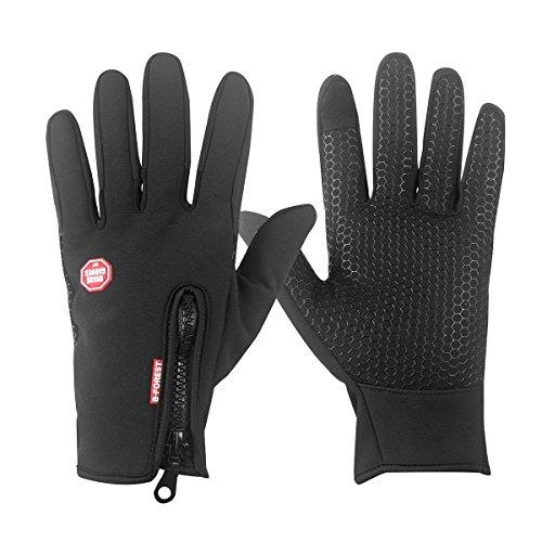 Fahrradhandschuhe, Touchscreen, wasserdicht und winddicht von Browill, Winterhandschuhe, Radsport Handschuhe, Sporthandschuhe, Geeignet für...