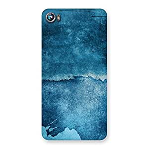 Special Blue Paint Print Back Case Cover for Micromax Canvas Fire 4 A107