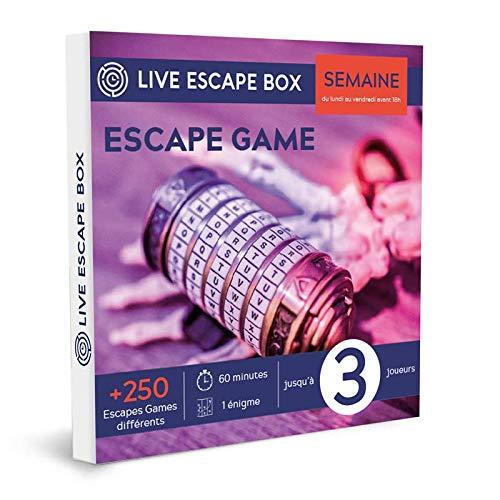 e-Coffret Cadeau Escape Game Semaine : en Couple ou Petit com