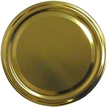 Twist-Off-Deckel TO82, Schraubdeckel Ø 82mm, Deckel für Gläser, Farbe: Gold (50)