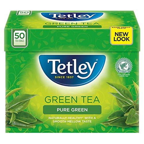 Tetley Green Tea Pure 50 Tea Bags