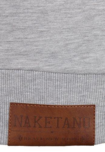 Naketano One Kid Takes It All Grey Melange Grey Melange