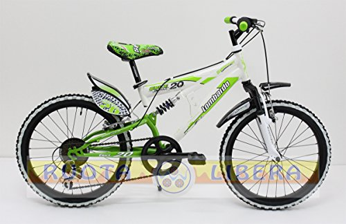 "Mountain Bike 20"" Lombardo Erice 20 White/Green"