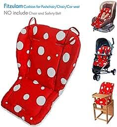 Rainbow Fitzulam Stroller Cushion Waterproof Baby Highchair Padding Liner Childs Car Seat Infant Breathable Pad Pram Mat Breathable Pad Infant Pram Mat