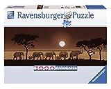 Ravensburger 15110 - Elefanten in der Savanne - 1000 Teile Puzzle