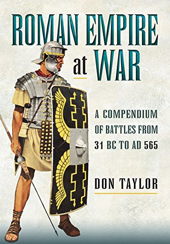 Roman Empire at War: A Compendium of Roman Battles from 31 B.C. to A.D. 565 por Don Taylor