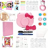 Zubehör für Fujifilm Instax Mini Hellokitty Sofortbildkamera 15-in-1[premium Pack] Zubehör Bundle Set- Pink