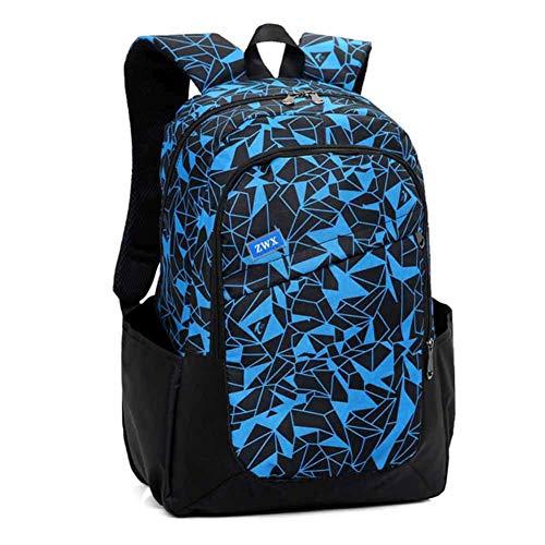 Tre-set zaini ragazza scuola tela stampa rragazzi zaino impermeabile borse 15.6 pollici laptop backpack borsa a tracolla per adolescenti