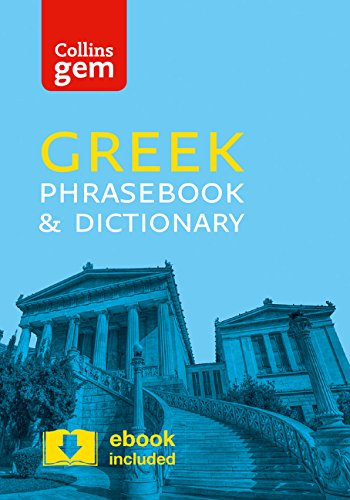 Collins Greek Phrasebook and Dictionary Gem Edition Cover Image