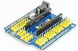 Nano IO Extension Sensor Servo Shield für Arduino Nano V3 und kompatiblen Boards