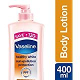 Vaseline Healthy White Triple Lightening SPF 24 Body Lotion, 400ml