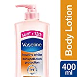 #1: Vaseline Healthy White Sun + Pollution Protection Body Lotion, 400ml