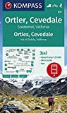 KOMPASS Wanderkarte Ortler, Cevedale, Suldental, Valfurva: 3in1 Wanderkarte 1:25000 mit Aktiv Guide inklusive Karte zur offline Verwendung in der ... Skitouren. (KOMPASS-Wanderkarten, Band 77)