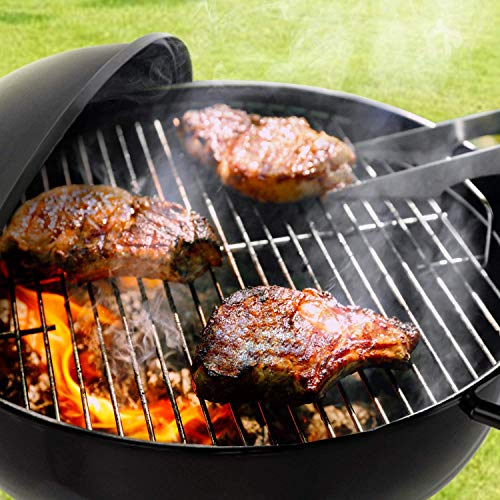 51dn UrehRL. SS500  - BEAU JARDIN Portable Charcoal Grill for Outdoor Grilling with Lid 4 Legs Rolls 18in Grill BBQ Kettle Outdoor Picnic Patio Backyard Camping Tailgating Steel Cooking Grate for Steak Chicken