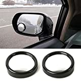 #7: {Rivik}-1Pair 360 Wide Angle Auto Side Round Convex Mirror Blind Spot Audi Q7