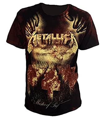 Metallica - Master of Puppets allover T-Shirt - Small