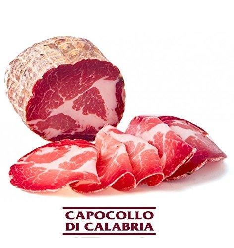 Capocollo piccante coppa artigianale capocollo di calabria trancio da 450 gr