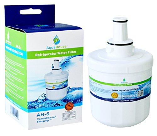 Samsung, kompatible Wasserfilter für Kühlschrank, ersetzbar DA29-00003F, HAFIN2EXP, DA97-06317A, WSS-1 - Gold Seal Häuser