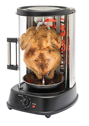 Girarrosto Grill Verticale per Pollo Spiedini o Kebab