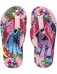 My Little Pony - Chancla Poliéster, Sandalia Flip Flop con Lentejuelas (28/29)