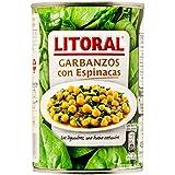 Litoral - Garbanzos Con Espinacas, 425 g