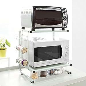 Sobuy frg092 w etag res de cuisine meuble rangement - Etagere pour livre de cuisine ...