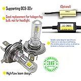 Wiseshine H4 lampen 9003 HB2 autolampe led...