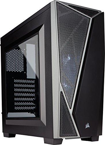 -04 PC-Gehäuse (Mid-Tower ATX) schwarz/grau ()