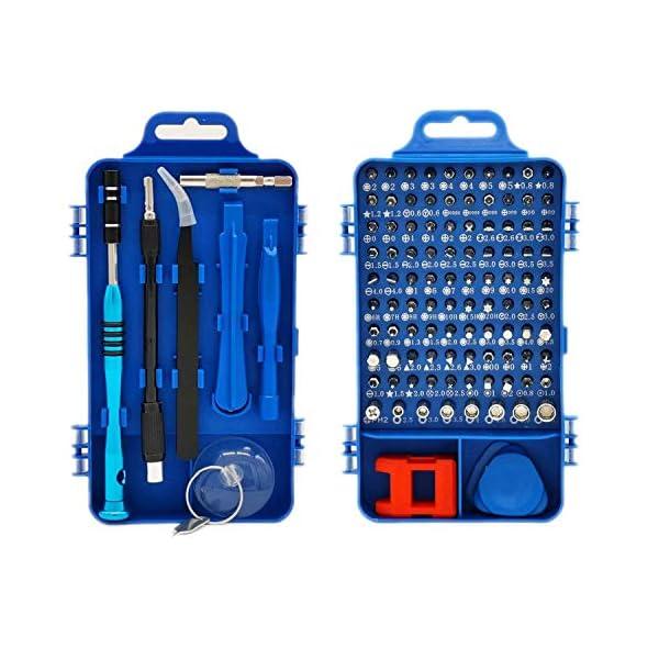 Set-Cacciaviti-Precisione-Kit-Riparazione-Professionale-Faireach-110-in-1-ScrewdrKit-Magnetici-con-Custodia-Portatile-per-Smartphone-Computer-IPad-Mac-Cellulari-Occhiali-Orologi-ecc