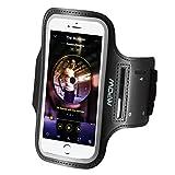 iPhone 6s Sportarmband,Mpow iPhone 6 6s iPhone 7 Armband mit Schlüsselhalter und Verlängerungsband für iPhone 7/6/6s für Gymnastik, Jogging, Workout, Langlaufen usw bis zu 4.7 Zoll