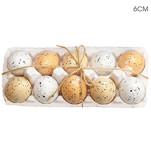 ODJOY-FAN 10pc Ostern Blasformen Ei Bunt Kinder Zeichnung Malerei Ostern Eier Farbe Ei Geburtstag Geschenk (A,1 PC)