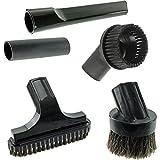 Spares2go Mini boquilla para escaleras y cepillo redondo Kit de herramientas...