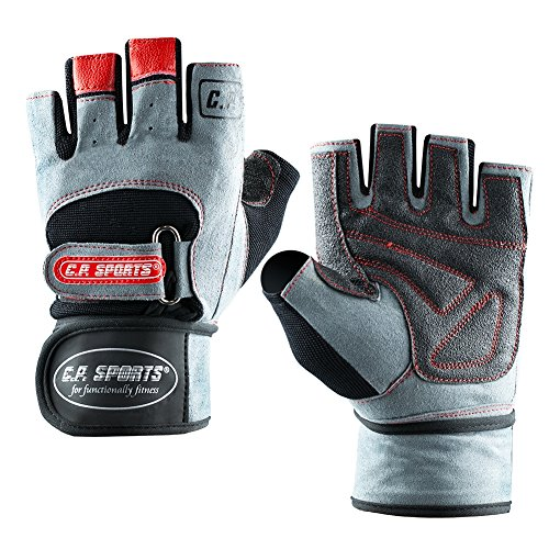 C.P.Sports Pro-Trainer Top Design 2014 Gants de fitness, bodybuilding et sports de force Gris Gris m