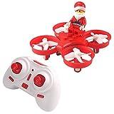 JJRC Drone singing Flying Santa Claus 2.4G 4CH 6 ejes de juguete sin cabeza de juguete RC Quadcopter RTF - Rojo