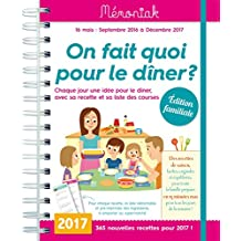 On fait quoi pour le dîner ? Mémoniak 2016-2017