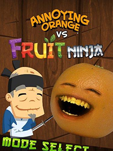 Clip: Annoying Orange vs Fruit Ninja - Orange Annoying Ninja