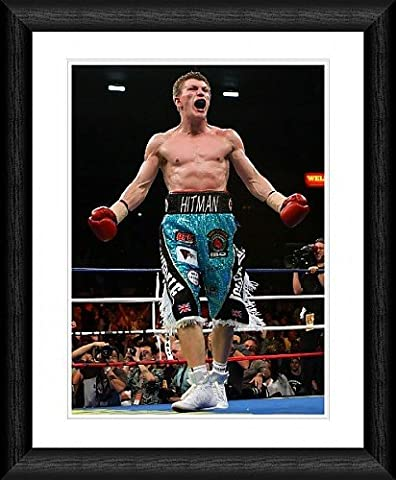 Ricky Hatton Framed 20x16