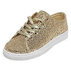 Catwalk Womens Gold Synthetic Boots - 6 UK